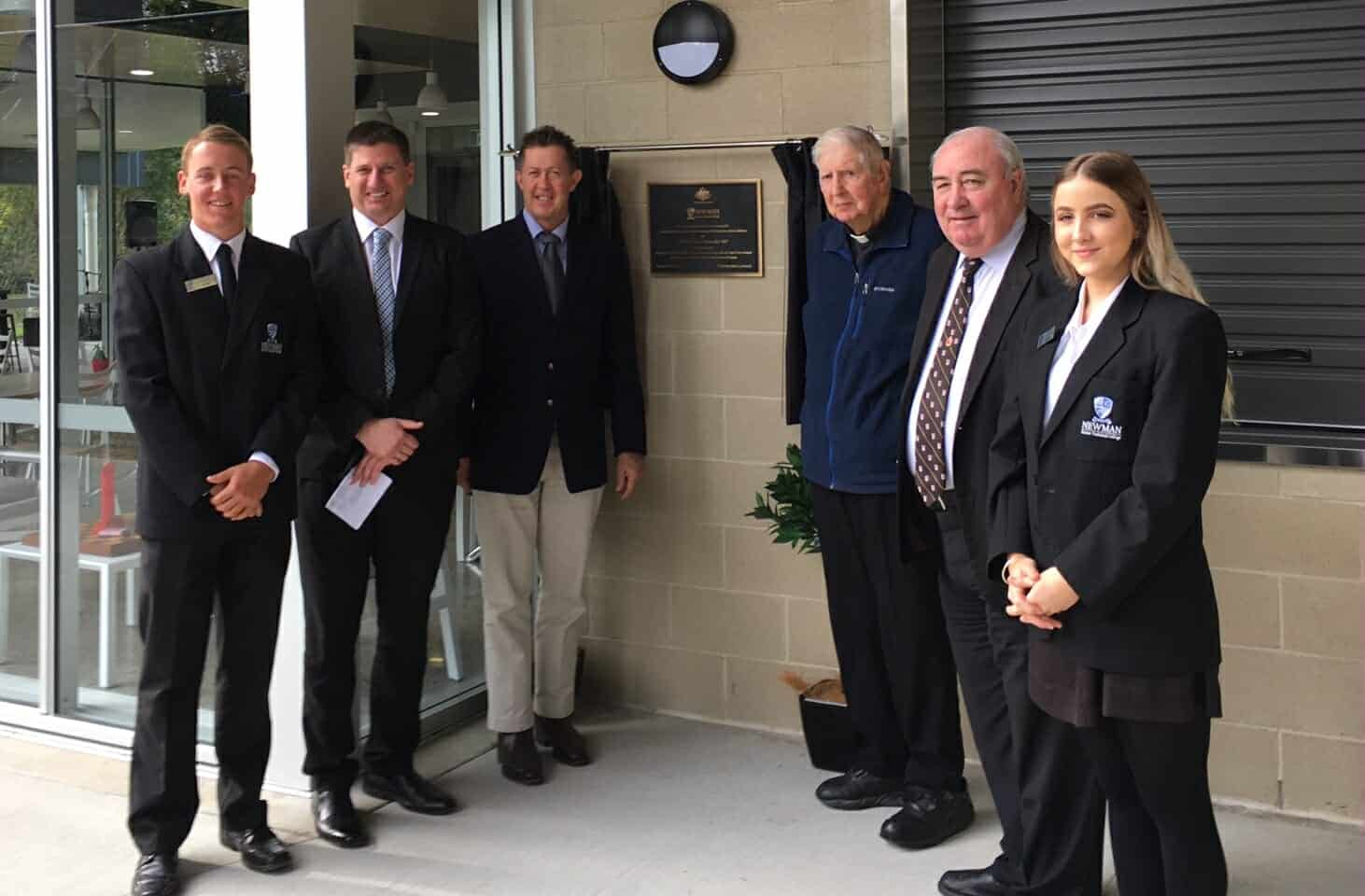 Newman College Official OPening 2017