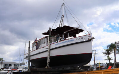 """Our Floating Classroom and Training Vessel """"The XLCR"""""""
