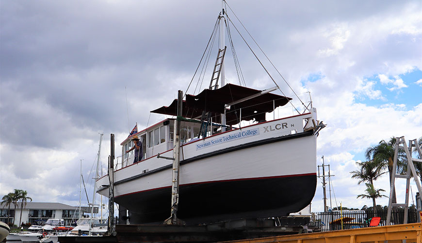 "Our Floating Classroom and Training Vessel ""The XLCR"""