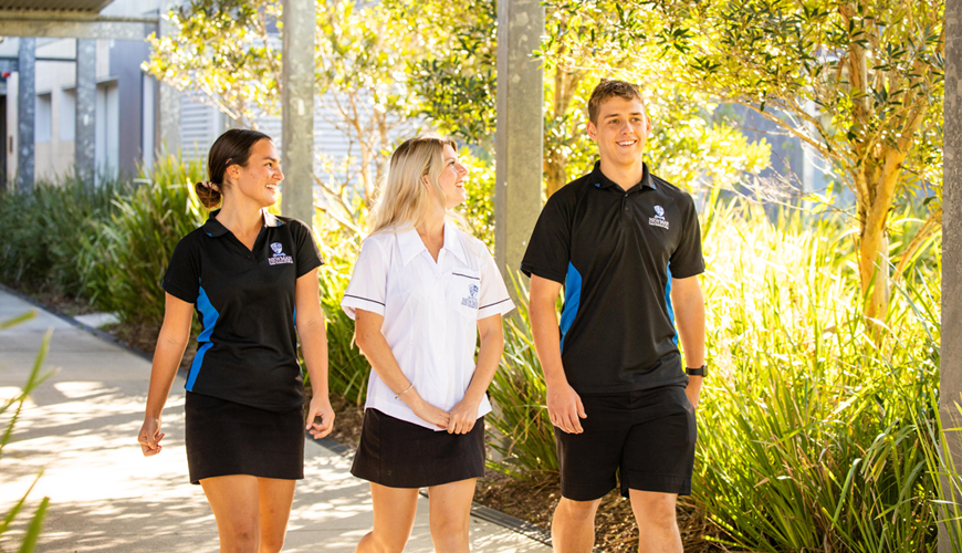 VET in Schools – Newman provides an alternative pathway to higher education.
